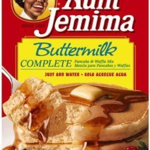 Aunt Jemima Complete Pancake Mix Buttermilk, 32-ounce Boxes (2 Boxes)