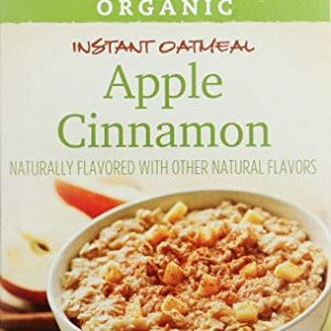 365 Everyday Value Organic Apple Cinnamon Instant Oatmeal 8 Pack, 11.29 OZ
