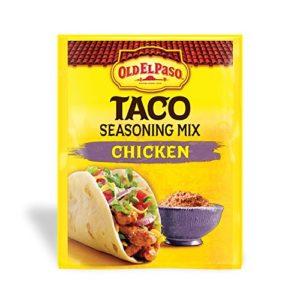 Old El Paso Chicken Taco Seasoning Mix, 0.85 oz. (Pack of 32)