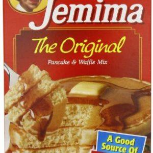 Aunt Jemima Buttermilk Pancake & Waffle Complete Mix - 80 oz