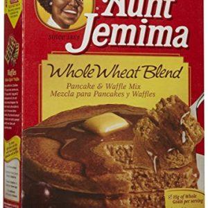 Aunt Jemima Whole Wheat Pancake Mix - 35 oz