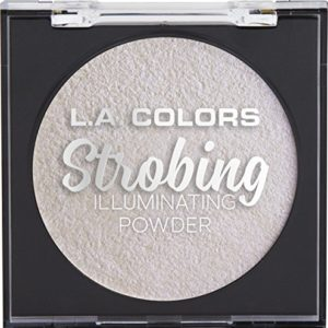 L.A. COLORS Strobing Illuminating Powder, Iridescent Pearl, 1 Ounce