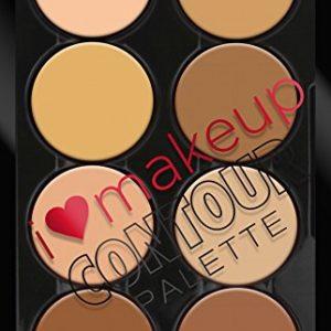 L.A. Colors I Heart Makeup Contour Palette, Light to Medium, 1.04 Ounce