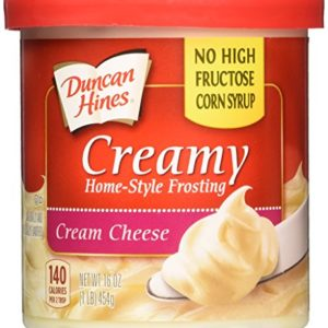 Duncan Hines Creamy Home Style Cream Cheese Frosting 16oz - 2 Containers