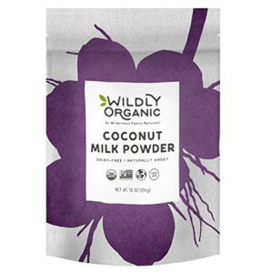 Wildly Organic Coconut Milk Powder - Made From 97% Coconut Milk and Only Three Ingredients, Vegan (1 Pound)