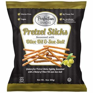 Pretzel Perfection Gluten Free Pretzel (Olive Oil & Sea Salt, 6 Count / 3oz)