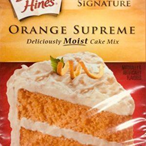 Duncan Hines Signature Orange Supreme Cake Mix 15.25oz (pack of 2)