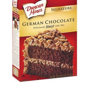 Duncan Hines Signature German Chocolate Cake Mix, 16.5 oz. - 2 Pack