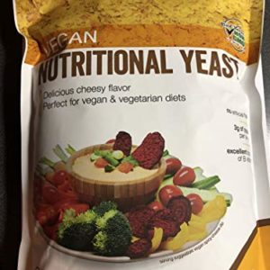 Vegan Nutritional Yeast (Delicious Cheesy Flavor; Perfect for Vegan and Veg. Diets) 1.3 lbs.