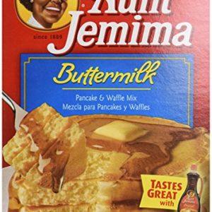 Aunt Jemima Buttermilk Pancake & Waffle Mix, 32 oz (2 lbs) 907 g