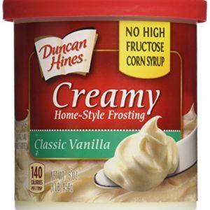 Duncan Hines Frosting Vanilla, 16 oz