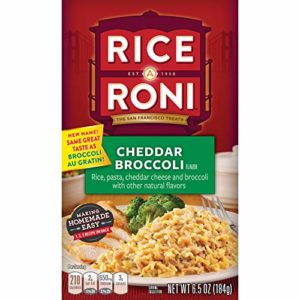 Rice a Roni Rice Mix, Broccoli au Gratin, 6.5 Oz