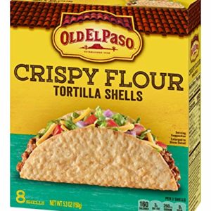 Old El Paso Crispy Flour Tortilla Shells 5.3 oz. Box (pack of 6)