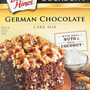 Duncan Hines Decadent Cake Mix, German Chocolate, 21 oz