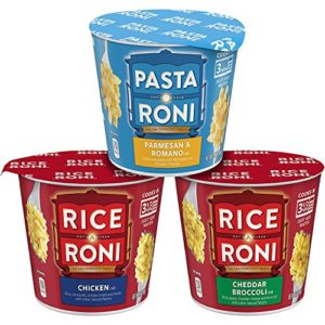 Rice-A-Roni and Pasta Roni Cups, Variety Pack , 2.11 Ounce Cups, 12 Count