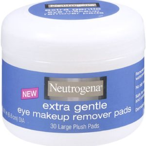 Neutrogena Deep Clean Makeup Removers, Extra Gentle Makeup Remover Pads, 30 Count (Pack of 2)