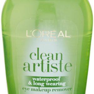 L'Oreal Paris Clean Artiste Waterproof & Long Wearing Eye Makeup Remover 4 oz (Pack of 3)