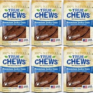 Tyson True Chews Chicken Jerky Fillets 4.5Lbs (6 x 12oz)