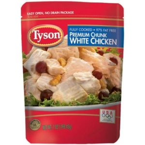 Tyson Premium Chunk White Chicken Breast, 7 oz (1)