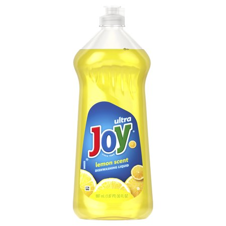 Joy Ultra Concentrated Dishwashing Dish Liquid, Lemon, 30 fl oz (Pack of 3)