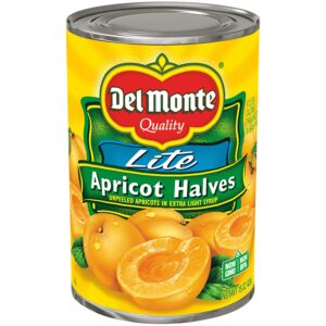 Del Monte Canned Apricot , 14.5 Ounce (Pack of 12)