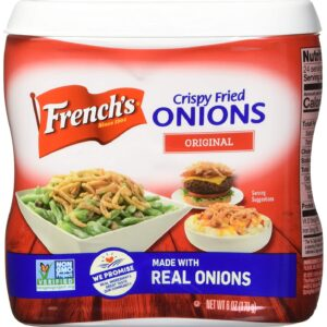 French's Original Crispy Fried Onions, Certified Kosher & Halal