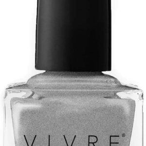 VIVRE Cosmetics Certified Breathable - Water Permeable - Oxygen Permeable - Halal Nail Polish: No Place Like CHROME