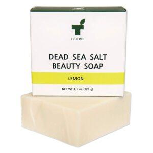 TROFREE Dead Sea Salt Beauty Soap (Lemon)