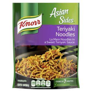 Knorr Asian Pasta Side Dish Teriyaki Noodles 4.6 oz, Pack 8