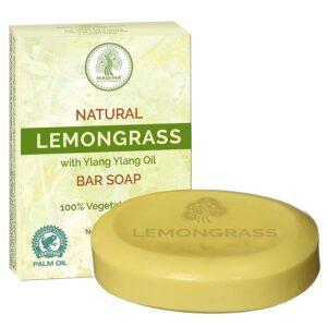 Madina 100% Vegetable Base Soap 12 bars (Lemongrass)
