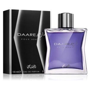 Daarej for Men EDP - Eau De Parfum 100 ml Sandalwood with Subtle Essence of Vanilla and Rose