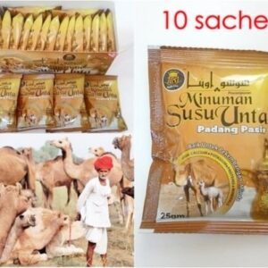 Camel powder milk 25g and total 10 sachets
