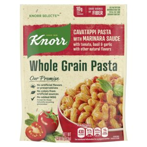 Knorr Selects Whole Grain Pasta For a Delicious Pasta Side Dish