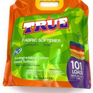 True Detergent Plant Based Fabric Softener - 101 Total Loads