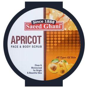 Saeed Ghani Apricot Scrub 180gm (5 Pack) (Apricot Scrub)