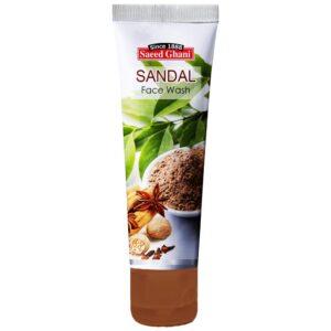 Saeed Ghani Sandal Face Wash 60ml (5 Pack) (Face Wash)