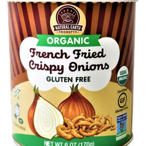 Organic French Fried Crispy Onions - Kosher, Vegan, Gluten-Free
