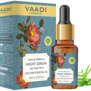 HERBALS Natural Radiance Night Serum with Aloe Vera