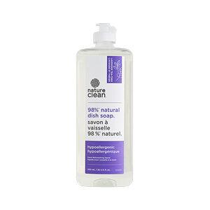 Nature Clean Natural Hypoallergenic Dish Liquid Lavender Tea Tree 740 ML