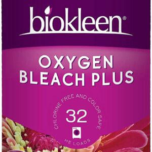 Biokleen Laundry Oxygen Bleach Plus, Concentrated Stain Remover, Whitens & Brightens