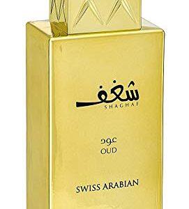 Shaghaf Oud, Eau de Parfum 75mL | Mouthwatering Gourmand (Sweet) Oud and Saffron Fragrance