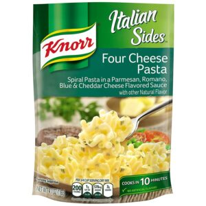 Knorr Italian Sides For a Delicious Easy Pasta Meal Four Cheese Pasta (Pack of 8)