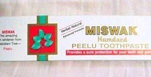 Hamdard Miswak Toothpaste - 2.47 oz