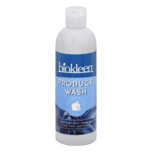 Biokleen Produce Wash, 16 Ounces, Grape Fruit Seed & Lime Peel, 1 Pound (Pack of 1)