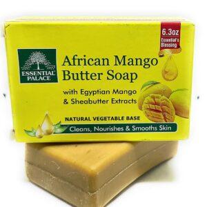 Halal African Mango butter soap 6.3oz 6 Pk