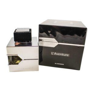 Al Haramain L'Aventure Eau de Parfum For Men, 3.33 Ounce (100 ml)