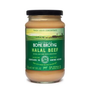 Halal Beef Bone Broth Concentrate - Beef Flavour