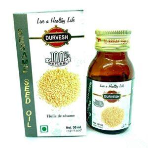 Durvesh Sesame Oil 1 oz / 30 ml زيت السمسم