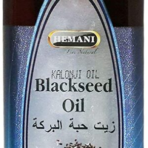 Hemani 100% Natural Black Seed Oil - Cold Pressed - 500ml