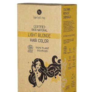 Herbal Me - Light Blonde Henna Hair Color 7.05 oz, CERTIFIED 100% VEGAN & HALAL